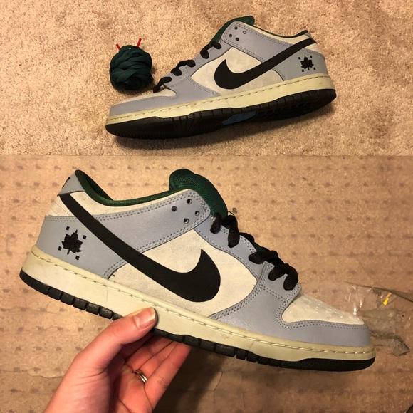 Nike Sb Dunk Low Pro Central Park Maple